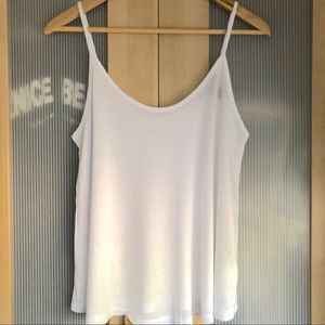 NWOT Forever 21 Swing Cami in White